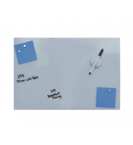TABLA MAGNETICA DIN STICLA ALBA 40x60 cm, DESQ 4251