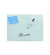 TABLA MAGNETICA DIN STICLA ALBA 60x90 cm, DESQ 4253