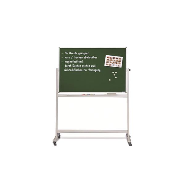 TABLA SCOLARA PENTRU CRETA PE STAND MOBIL MAGNETOPLAN, 150X100 cm