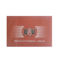 HARTIE DE SCRIS A4, 60 g/mp, 1000 coli/top